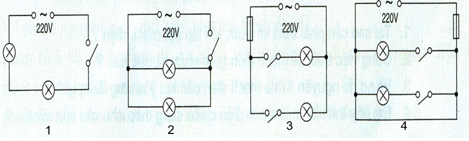 Một số sơ đồ thiết kế mạch điện