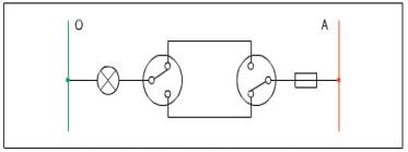 Sơ đồ nguyên lí mạch điện đèn cấu thang
