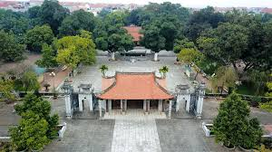Đền thờ Hai Bà Trưng, huyện Mê Linh