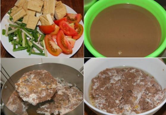 Quy trình nấu rêu cua