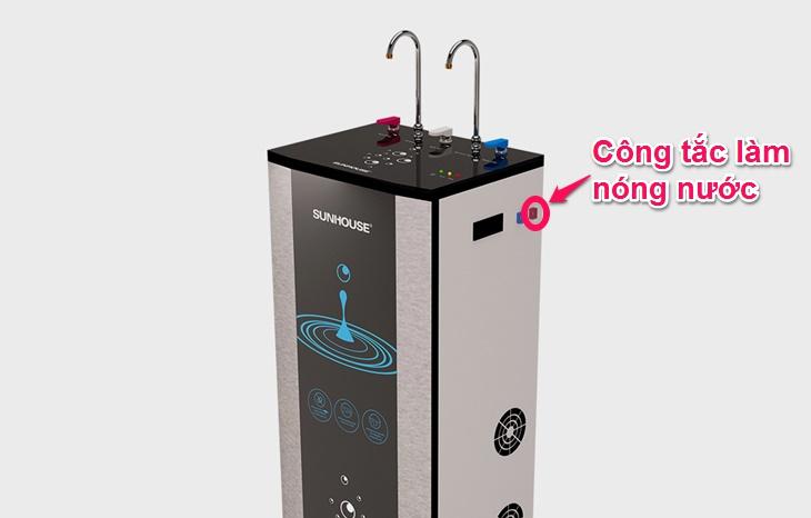 Lý do nước của máy lọc nước không nóng và cách khắc phục