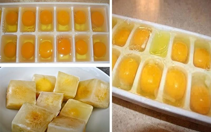 Những viên đá trứng đóng băng