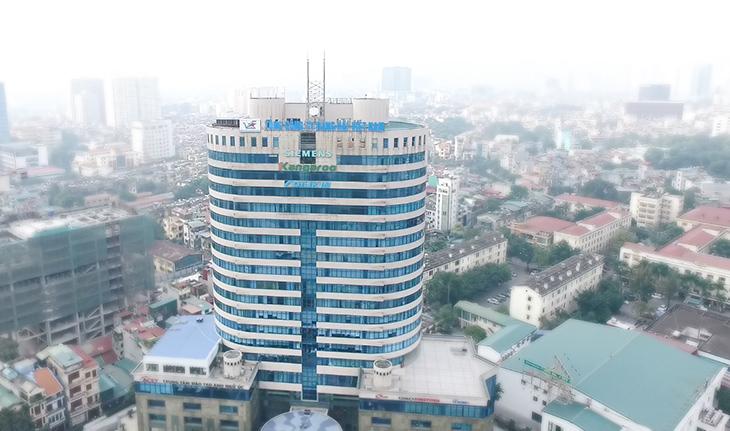 Trụ sở chính Tập đoàn Kangaroo tại số 1 Đào Duy Anh, Quận Đống Đa, Hà Nội