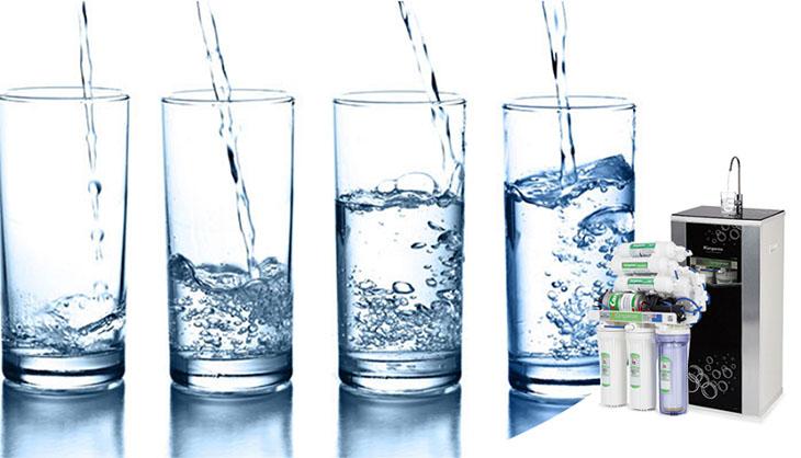 Các phân tử hydrogen tồn tại trong nước dưới dạng khí hoà tan