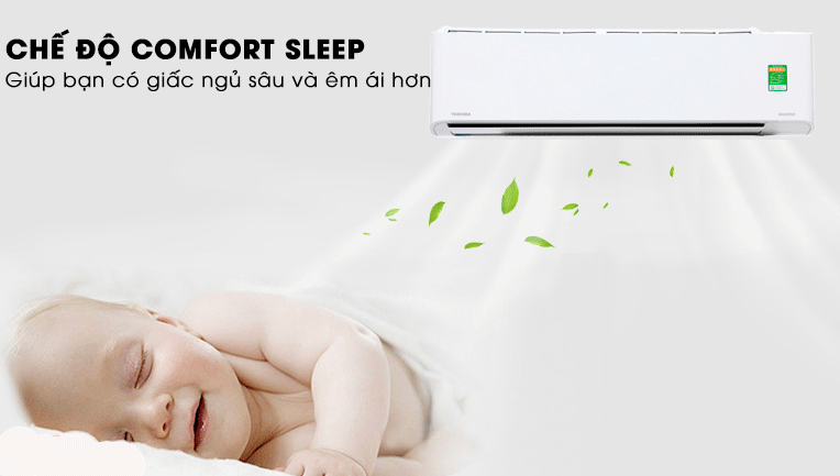 Chế độ Comfort Sleep của Toshiba