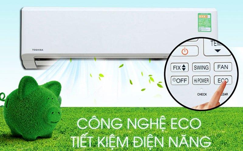 Tiết kiệm điện năng ECO - Máy lạnh Toshiba