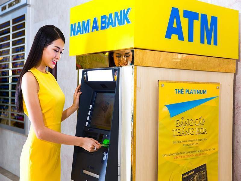 Sử dụng thẻ ATM Nam A Bank