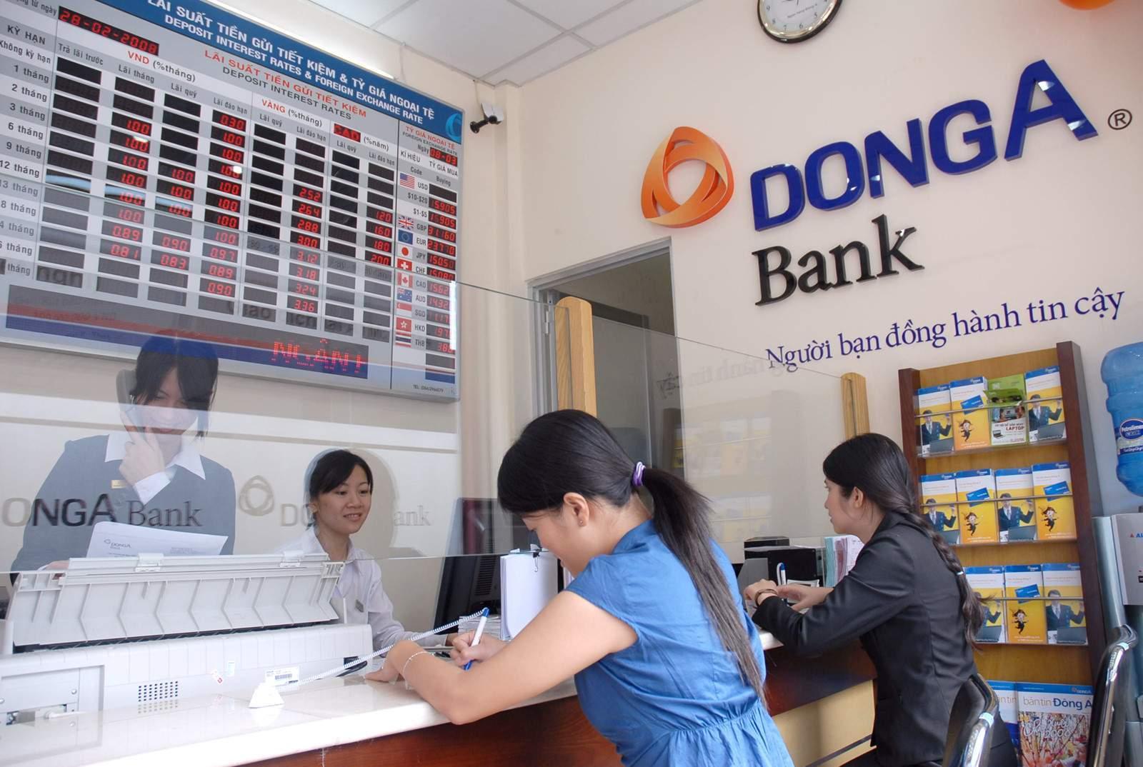 Cách lấy lại số tài khoản Đông Á