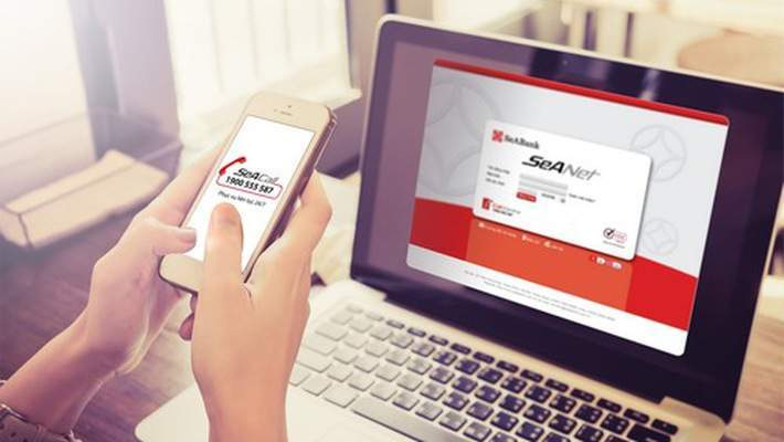 Mobile Banking SeABank thực hiện giao dịch mọi lúc, mọi nơi