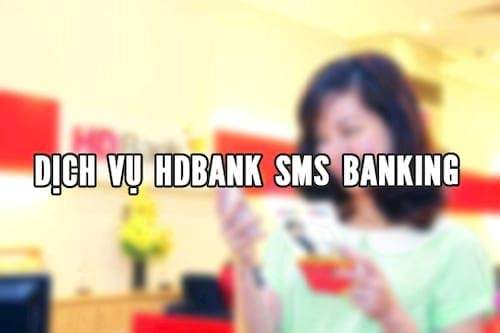 SMS Banking HDBank