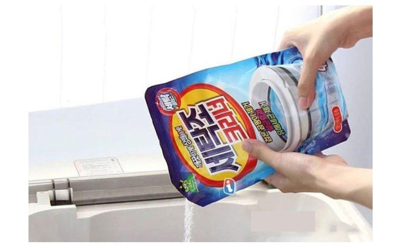 Bột tẩy vệ sinh lồng máy giặt là chất tẩy rửa được nhiều người lựa chọn