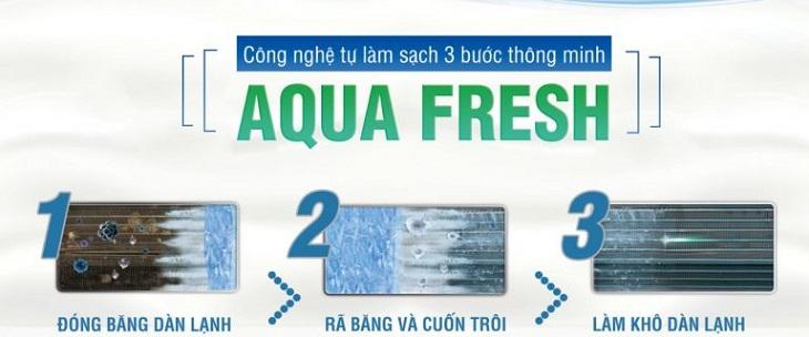 Image result for aqua fresh máy lạnh