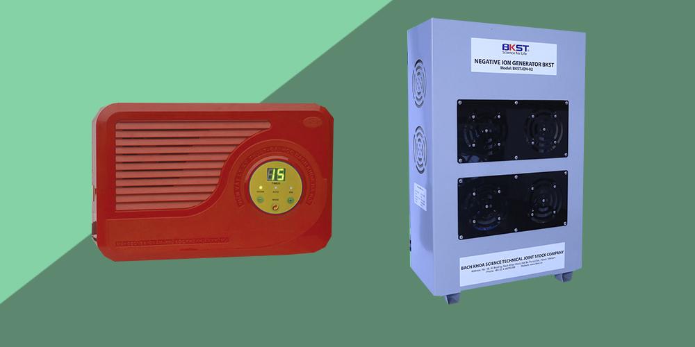 Máy tạo ion âm gia đình và máy tạo ion âm công nghiệp