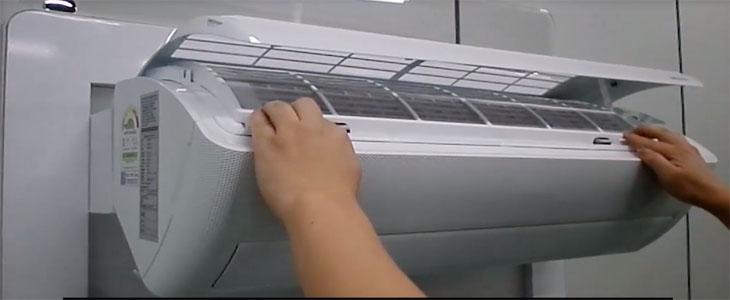 Cách vệ sinh máy lạnh wind free