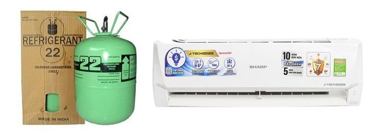 Nạp thêm gas r22 cho máy lạnh