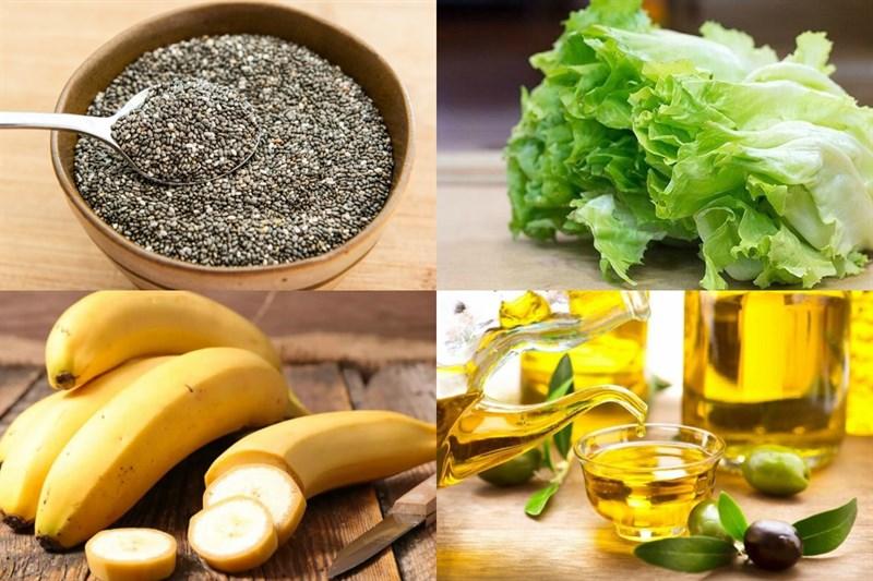 Nguyên liệu làm Salad hạt chia