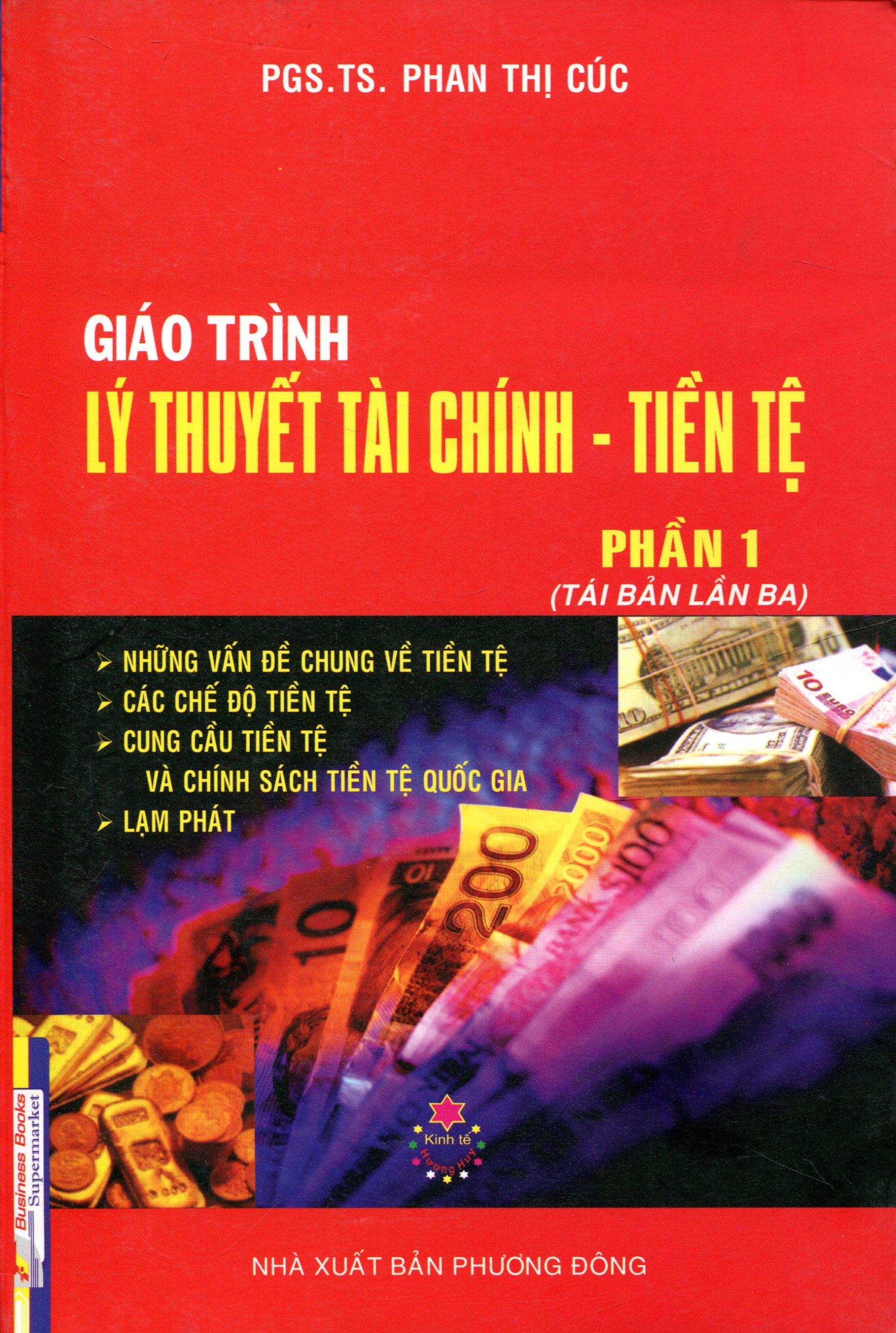 Giáo Trình Lý thuyết Tài Chính Tiền Tệ (Phần 1)