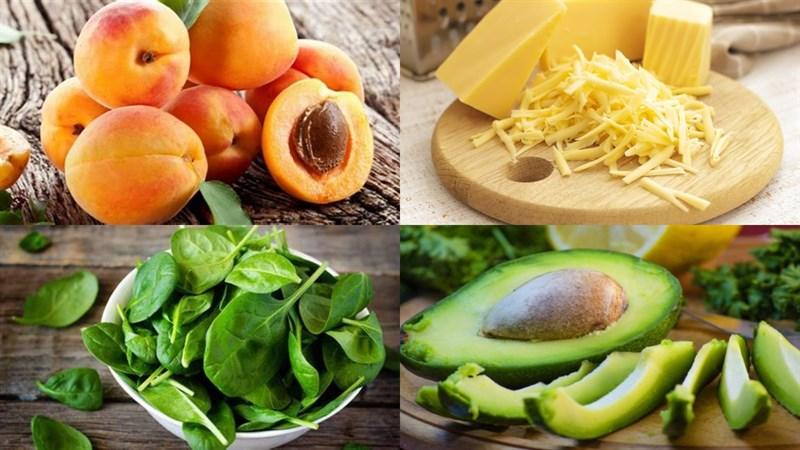 Một số Nguyên liệu làm Salad đào rau bina