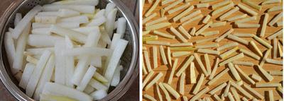 Hong khô củ cải