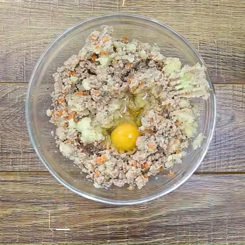 Trộn khoai tây thịt