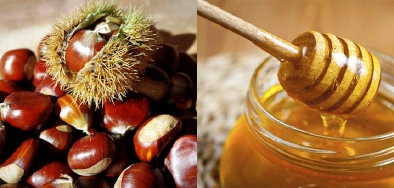 Nguyên liệu làm hạt dẻ rang mật ong