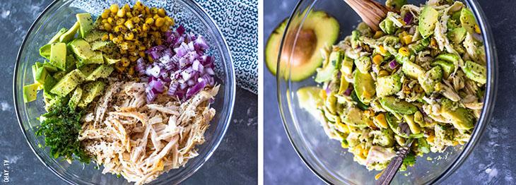 Trộn salad